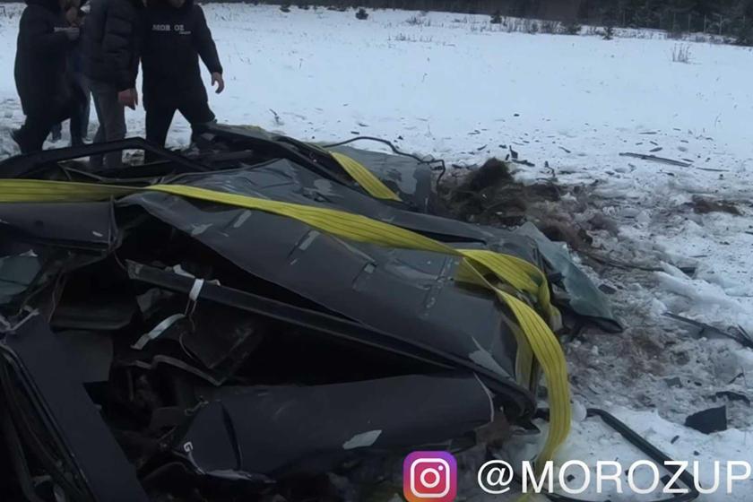 Этот чувак был так зол на свой Mercedes-AMG G63, что cбросил его с вертолета