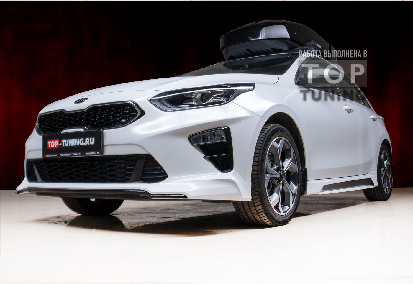 ADVANCE BODY KIT  КОМПЛЕКТ ДЛЯ СТАЙЛИНГА KIA CEED 3 2018+