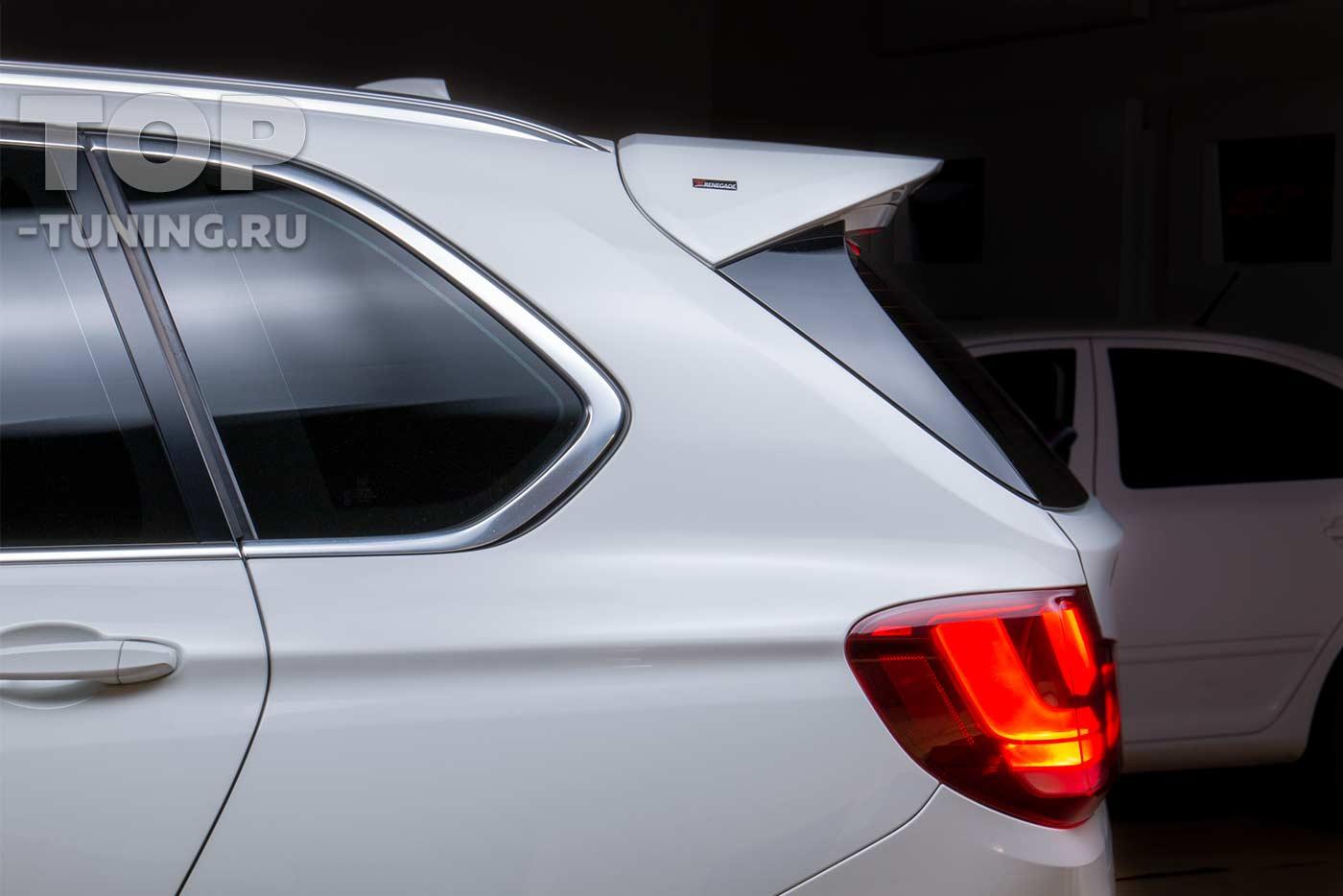 Спойлер на крышку багажника для BMW X5 F15 RENEGADE Design