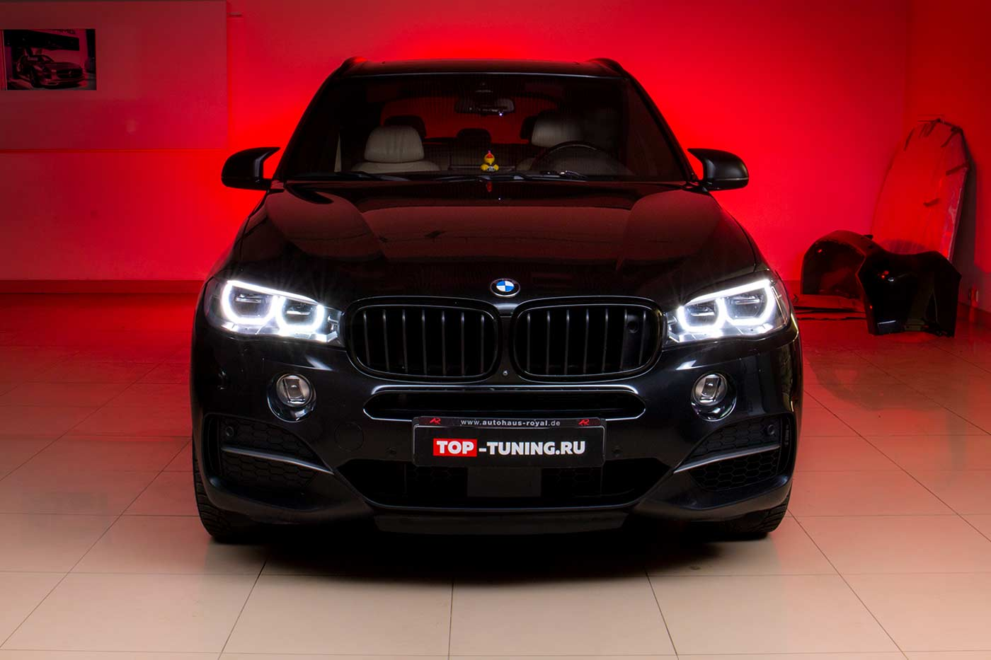 Новый М-бампер F85 для BMW X5 F15 + многое другое