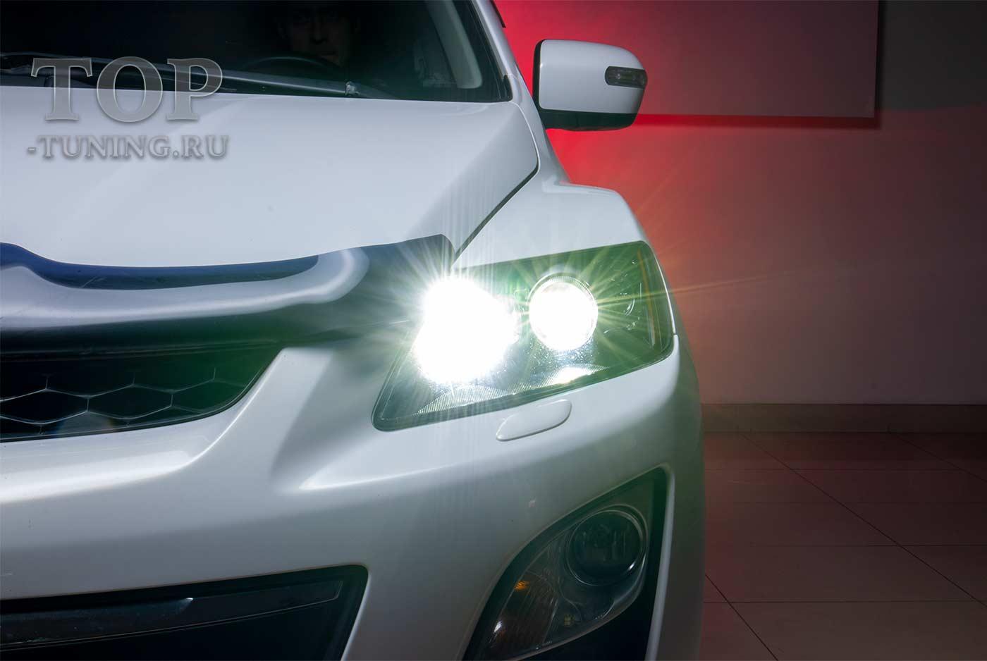 103072 Модернизация оптики MAZDA CX-7 - новые LED линзы