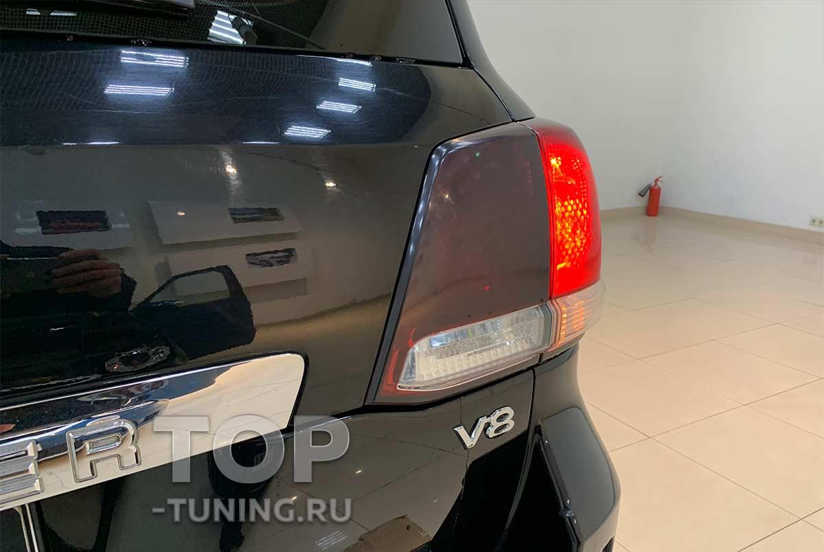 Тюнинг оптики Тойота Лэнд Крузер 200 - задние фонари, замена на новый стиль