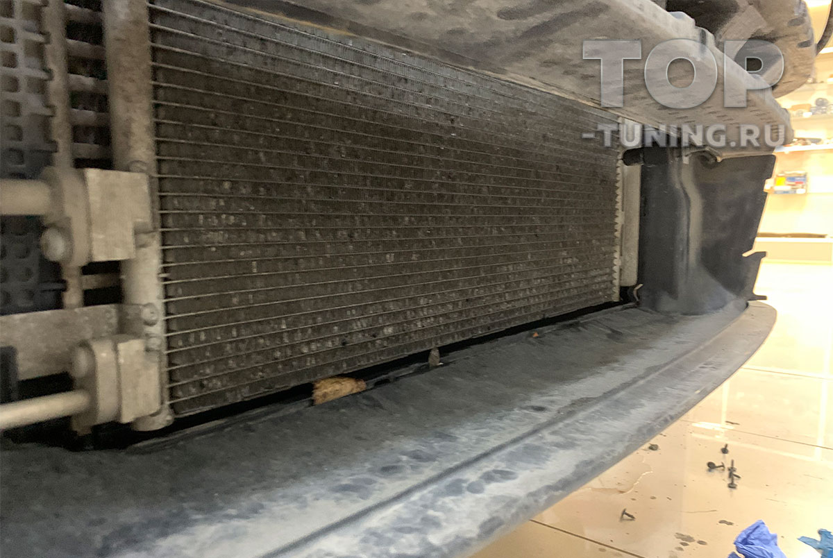 Радиатор Шкода Кодьяк без защиты - через год