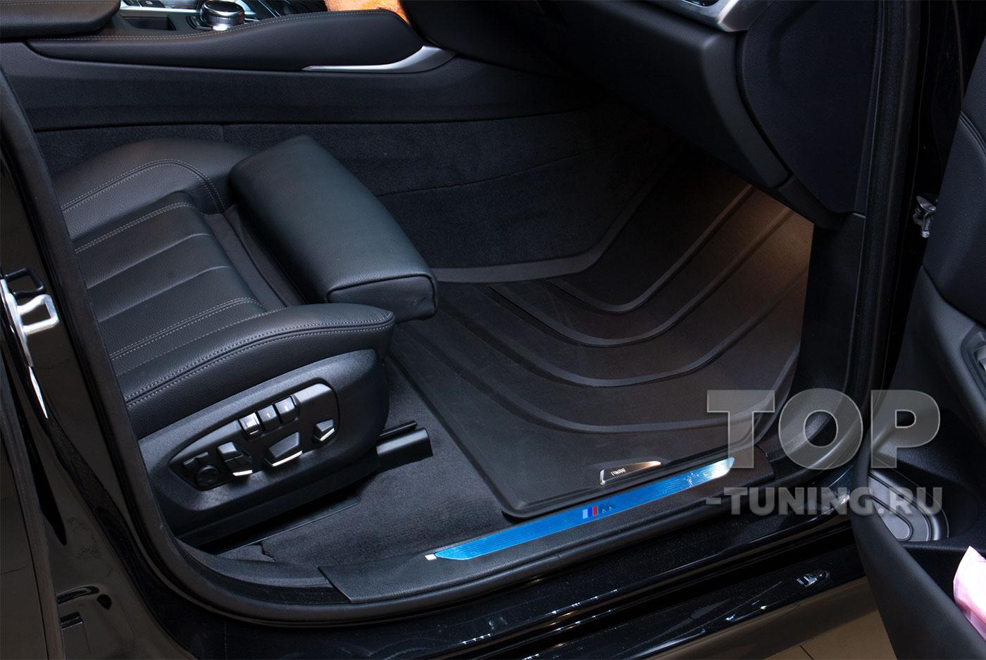 Оригинальные аксессуары BMW X6 F16 - всепогодные ковры в салон