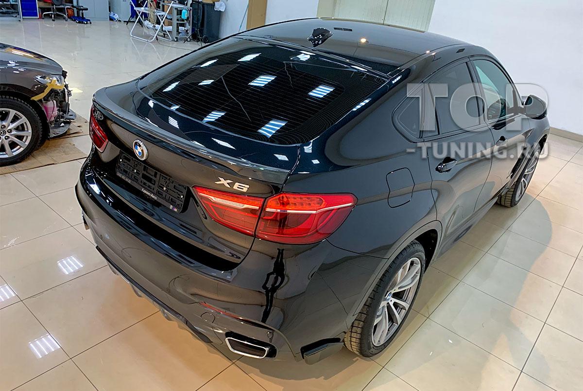 Тонировка стекол для BMW X6 F16 - Москва, Топ Тюнинг