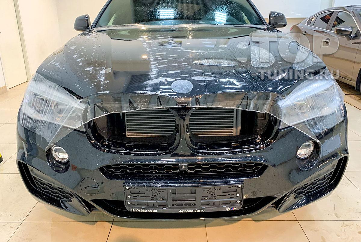 БРОНИРОВАНИЕ ЗОНЫ РИСКА BMW X6 - ОРИГИНАЛЬНЫЙ ПОЛИУРЕТАН STEK DYNO SHIELD (ЮЖНАЯ КОРЕЯ)