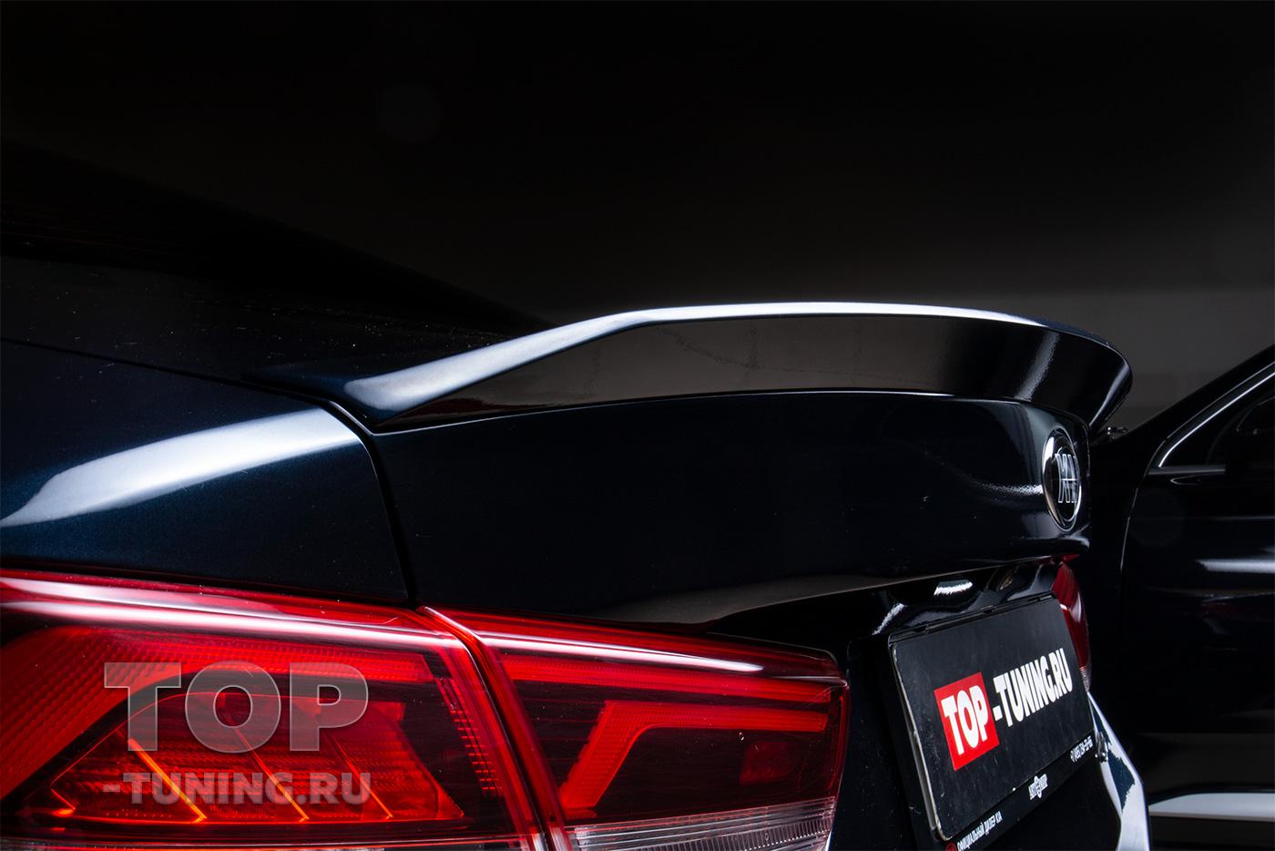 103252  Установка спойлера Advance на Kia Optima 4 GTS