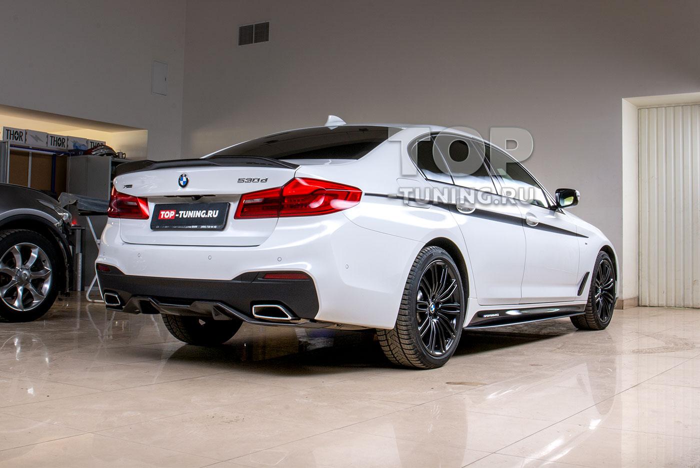 103259 Наклейки на пороги M-Performance BMW 5 G30