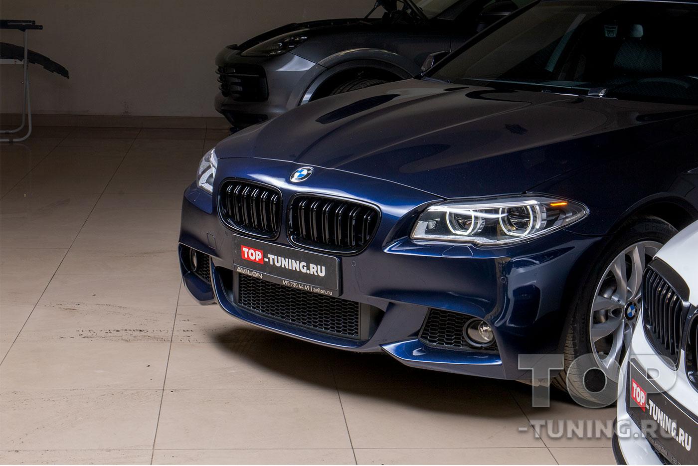 Черные М ноздри для BMW 5 F10