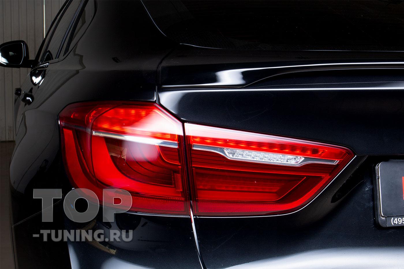 103281 Установка спойлера Performance на BMW X6 F16