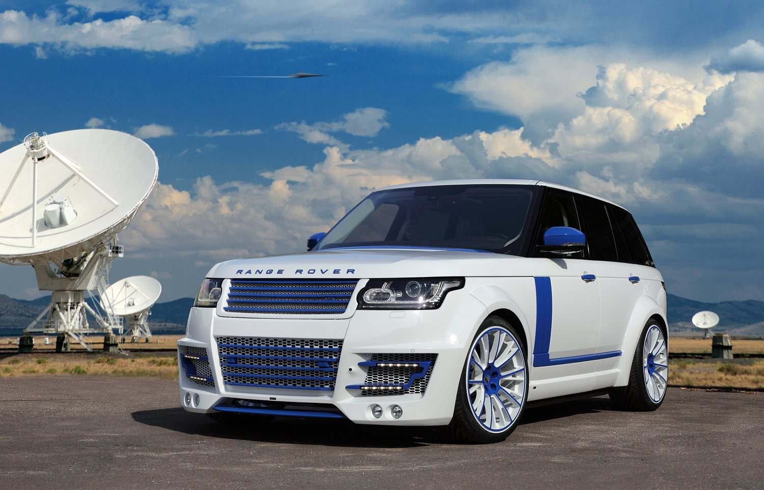 Range Rover Vogue  Lumma Design тюнинг