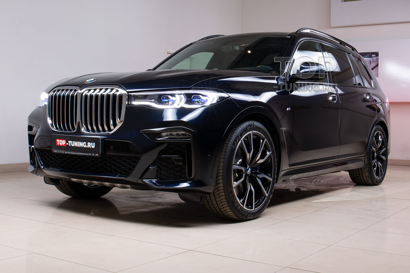 103363 Полная оклейка кузова BMW X7
