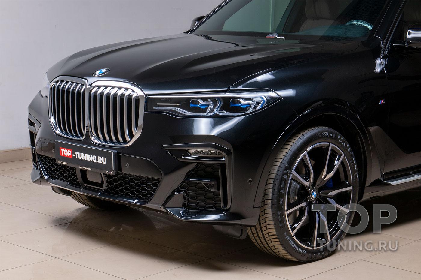 103435 Готовим BMW X7 - пленка, керамика, тонировка, салон, аксессуары