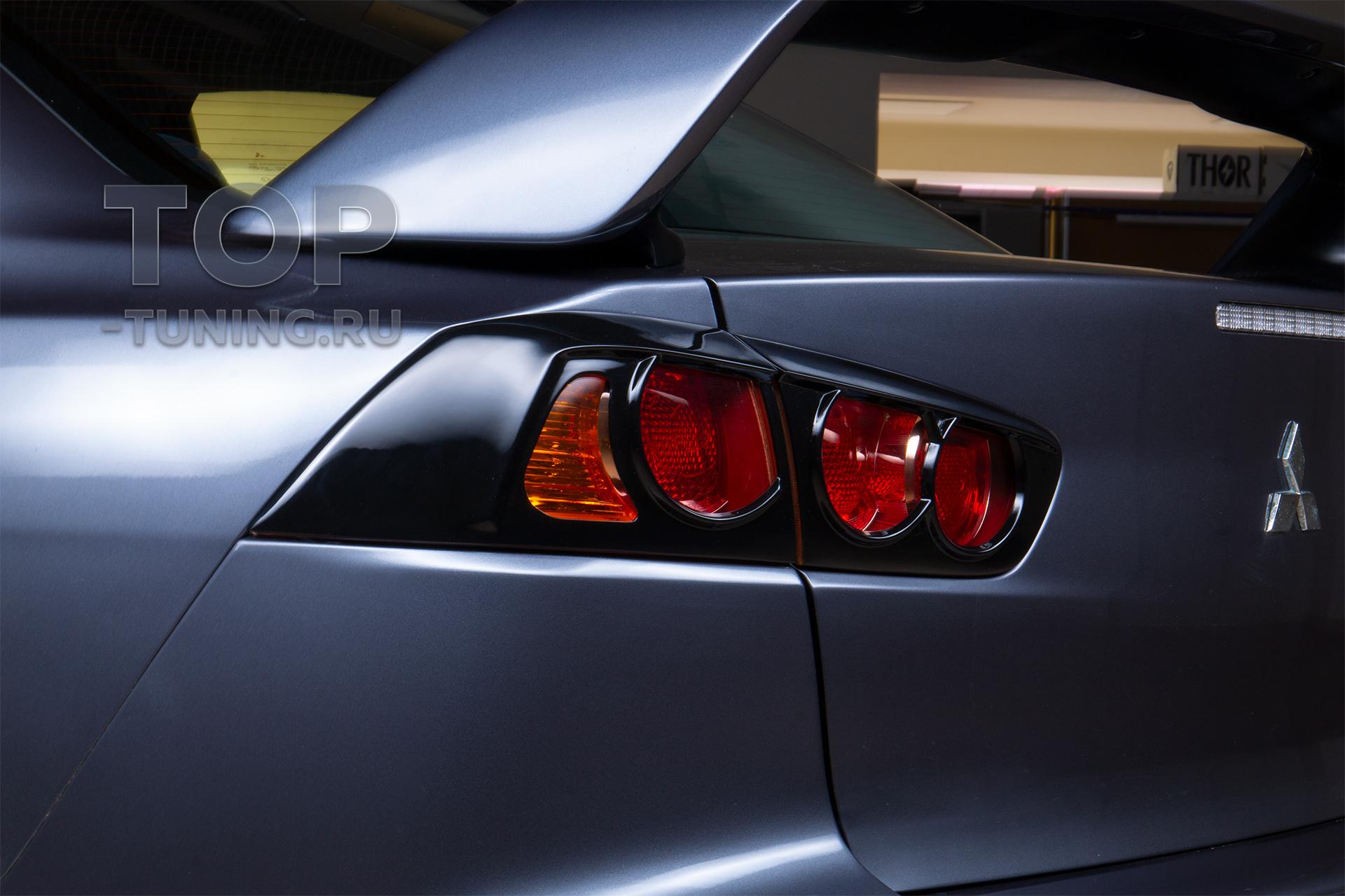 103509 Масштабная доработка Mitsubishi Lancer X в обвесе Zodiac