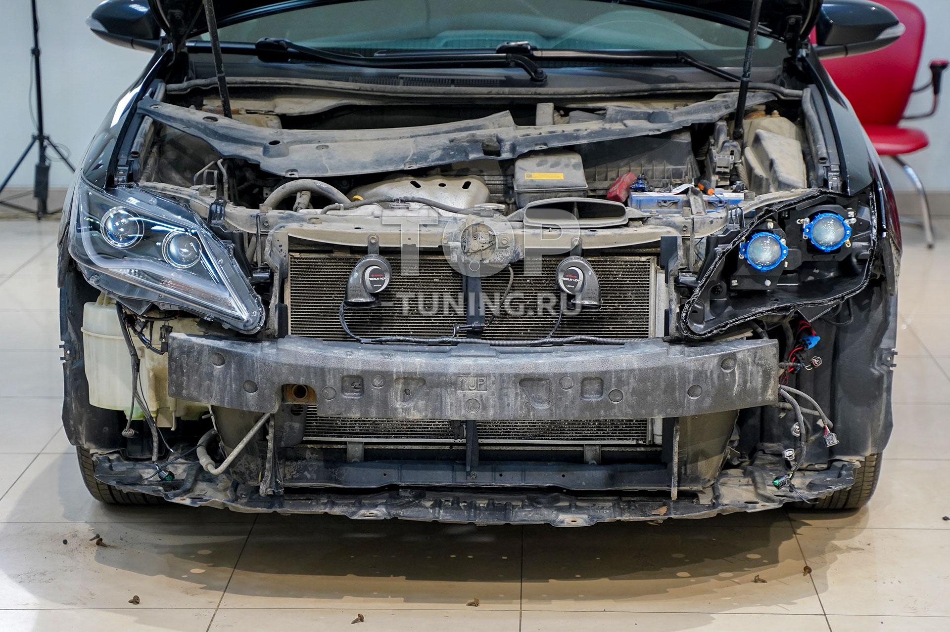 Замена линз в Тойота Камри 50