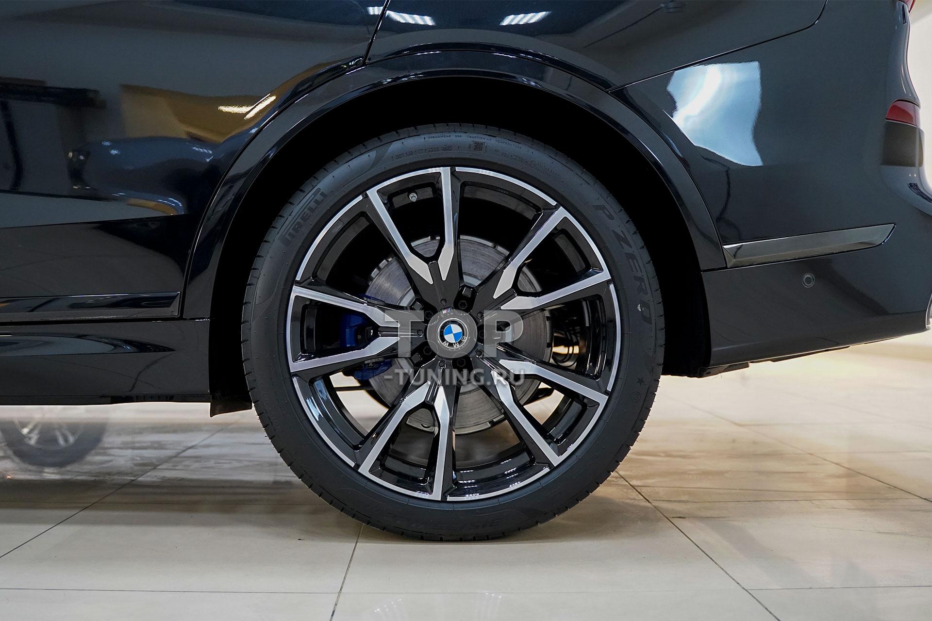 103650 Полная защита кузова BMW X7 бронепленкой STEK Platinum
