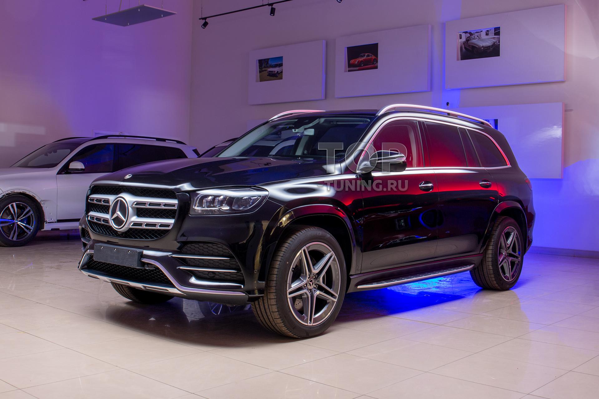 Бронирование кузова Mercedes-Benz прозрачной пленкой (полиуретан STEK)