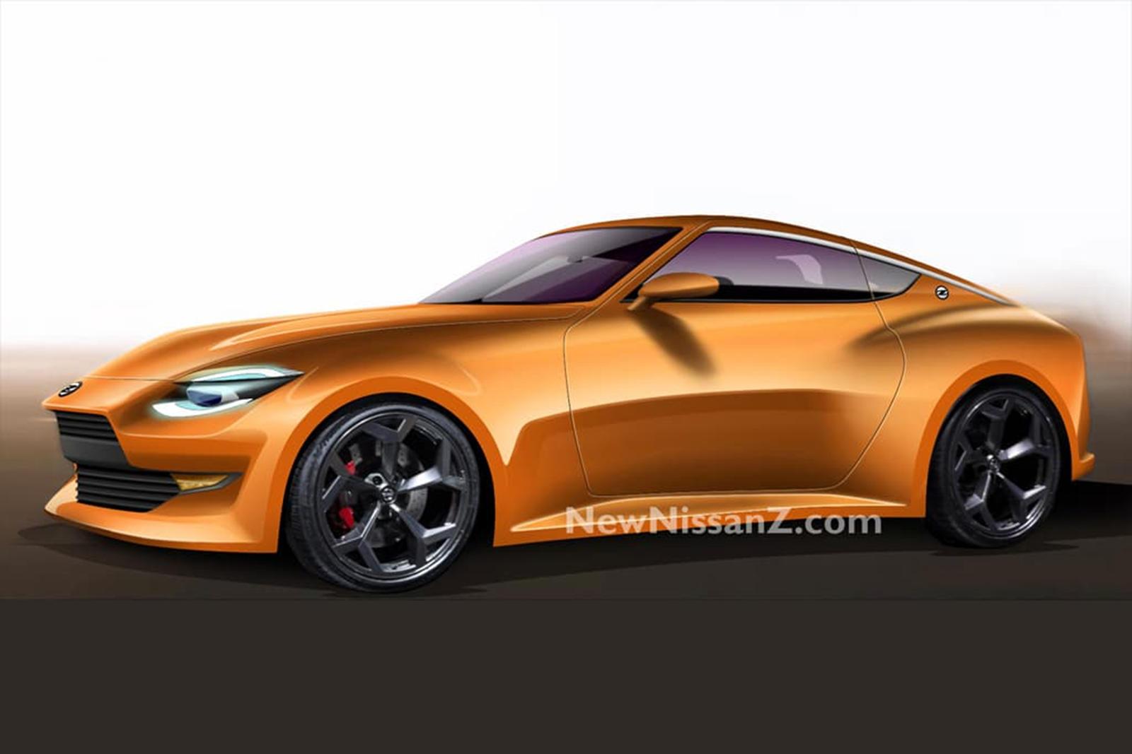 Что касается стиля, мы уже видели визуализации 400Z на основе тизерного видео Nissan. Последние изображения, опубликованные пользователем jpeg.jordann в Instagram, показывают 400Z в оранжевом цвете.