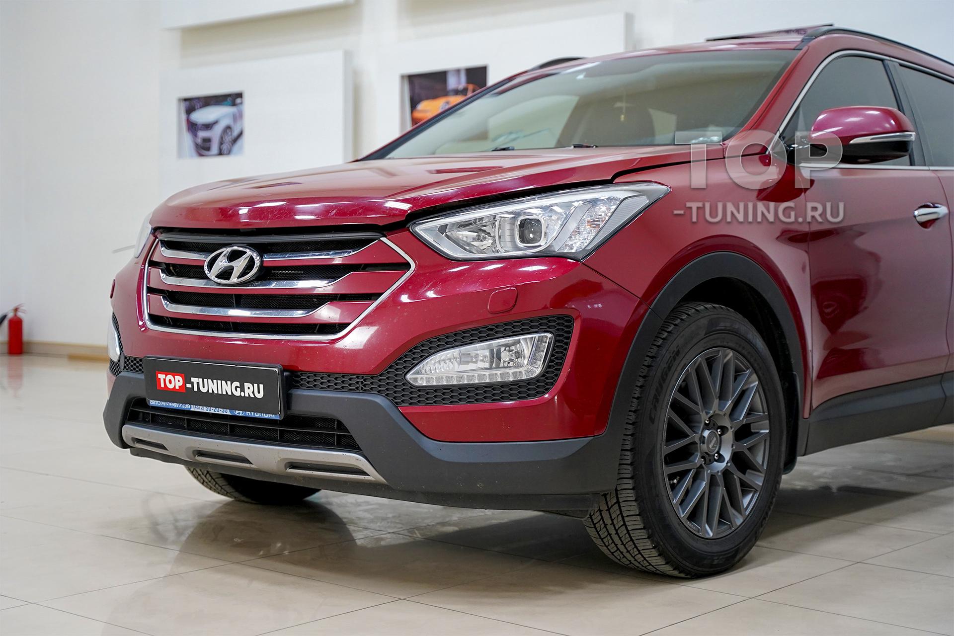 103720 Обвес Larte для красного Hyundai Santa Fe 3 DM