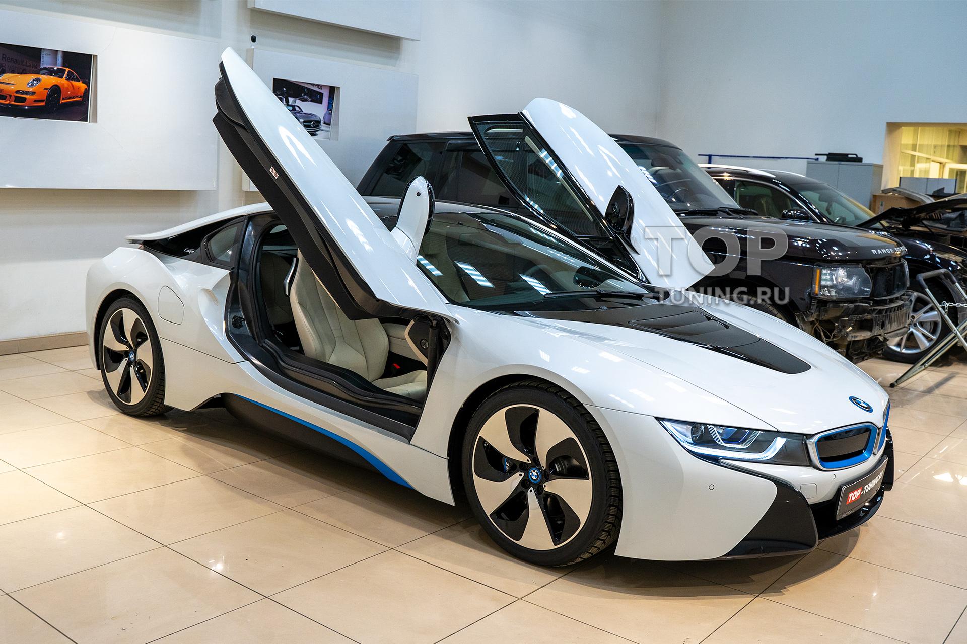 103737 Бронирование оптики и детейлинг салона на BMW i8