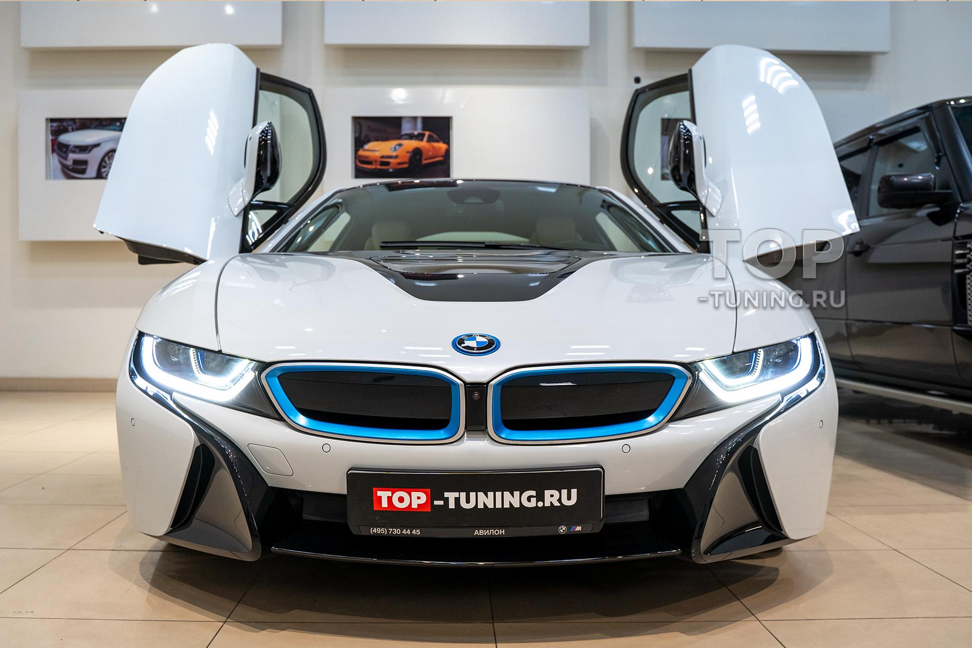 Оклейка прозрачной пленкой BMW (бронирование) - Детейлинг центр Топ Тюнинг Москва