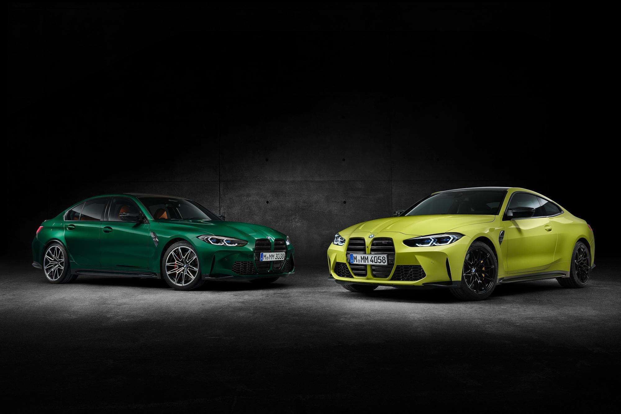 Фотографии спорных BMW M3 и BMW M4 просочились перед их официальным дебютом.