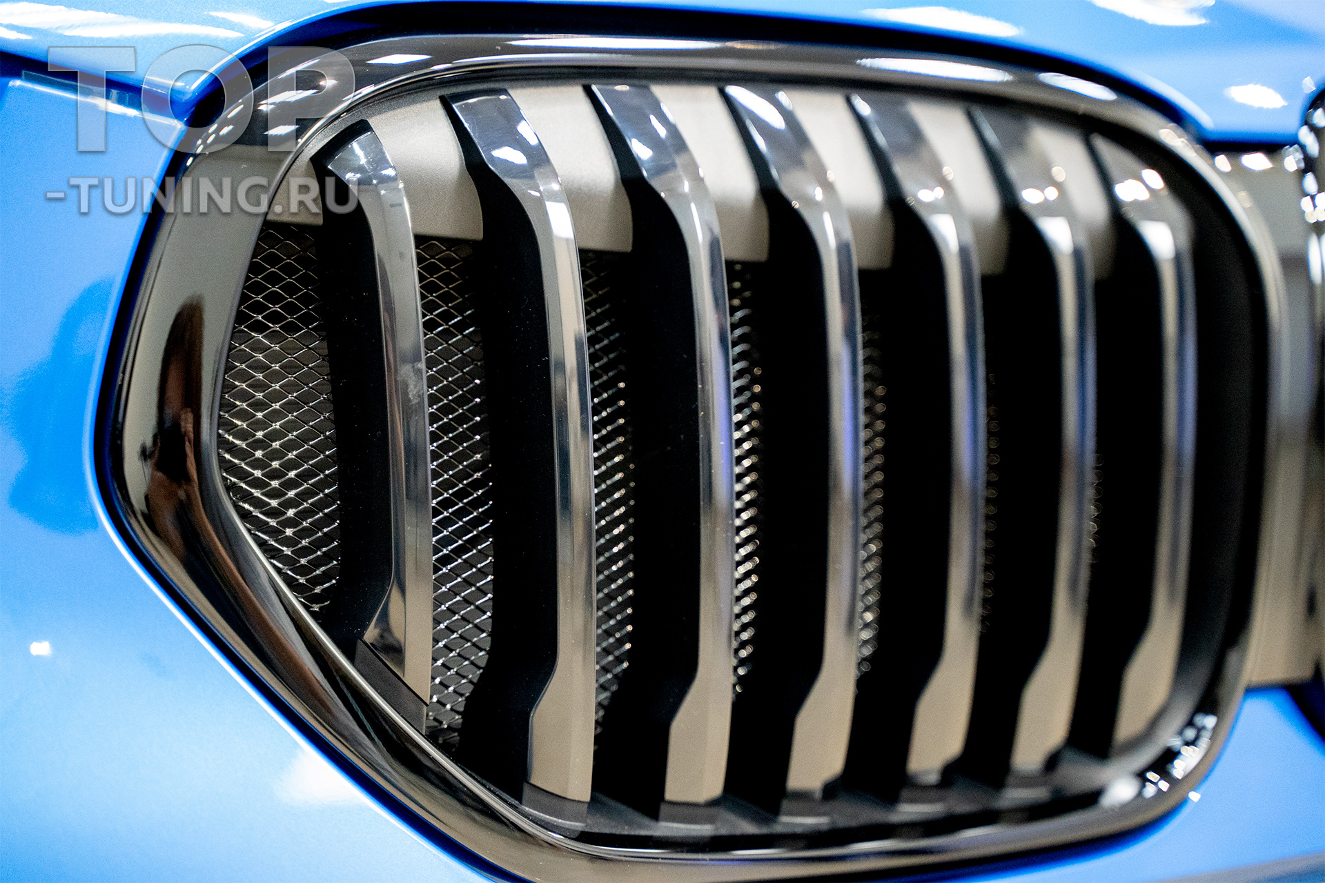 103820 Оснащение BMW X1 F48 - сетка в бампер и ноздри