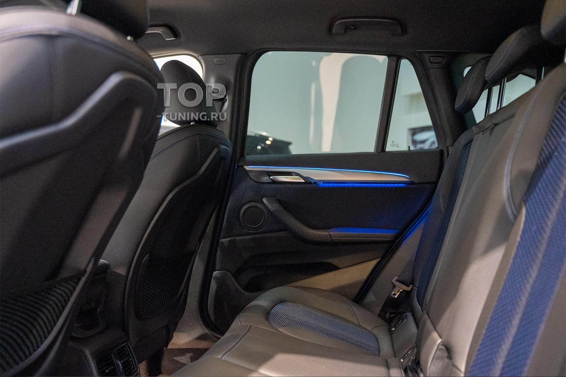 103820 Оснащение BMW X1 F48 - Тонировка стекол (задняя полусфера)