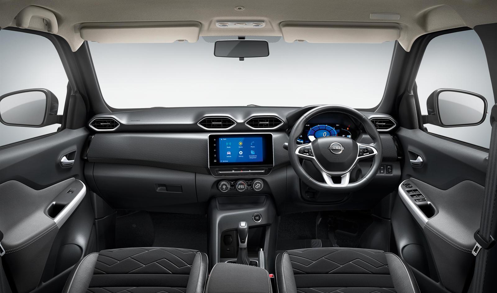 Представленный для индийского рынка, Magnite, по сути, является ответом Nissan на Hyundai Venue. Визуально это стильный компактный внедорожник, который выделяется среди своих конкурентов в сегменте B-SUV благодаря своим гладким фарам с «указателями п