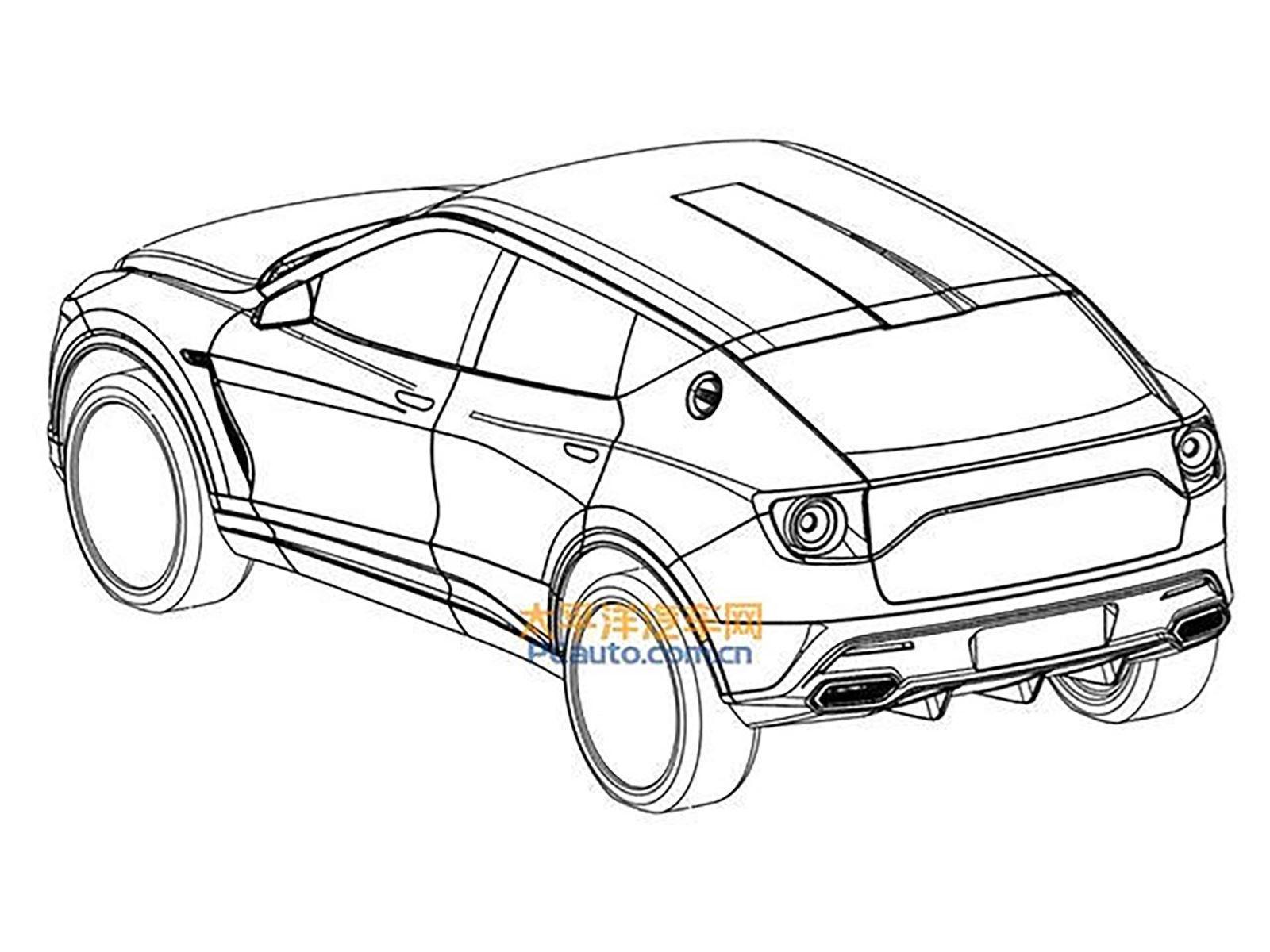 Передний рендер Lambda сразу напоминает некоторые внедорожники Jaguar, такие как E-Pace, особенно когда речь идет о форме решетки радиатора. Боковой профиль стал более уникальным, с глубокими характерными линиями, большими колесными арками и высоко р