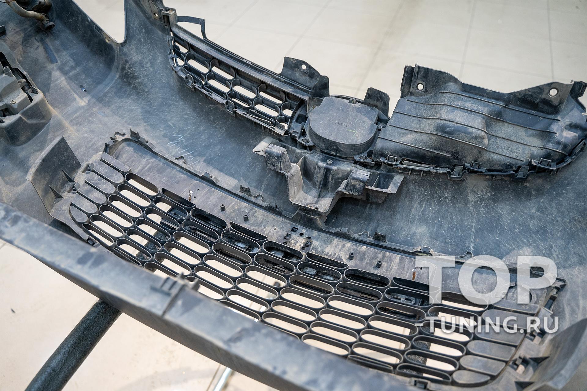 Защитная сетка в решетку Mazda CX-7