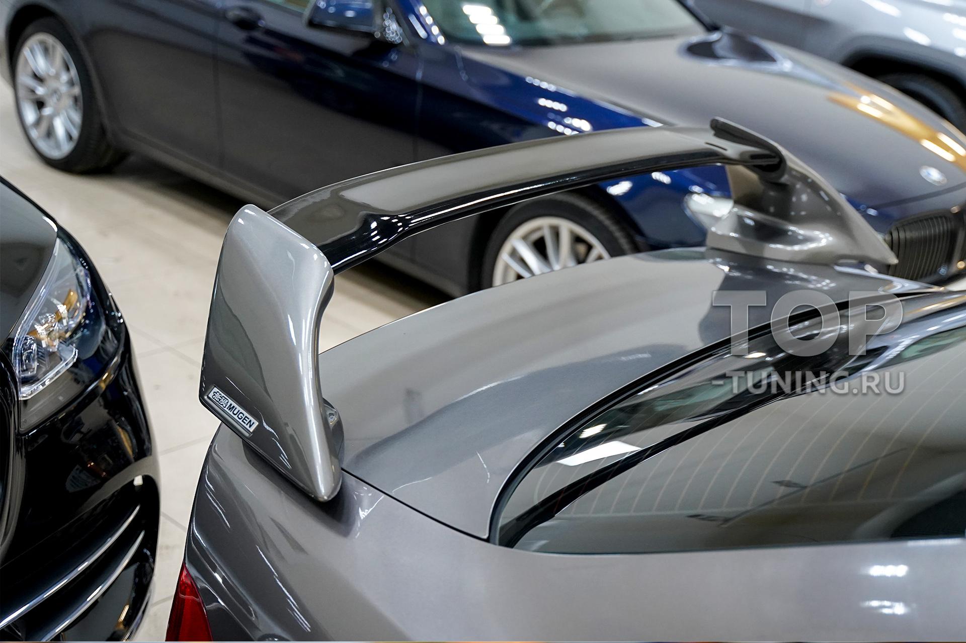 103916 Установка спойлера Mugen на Honda Accord 7 CL