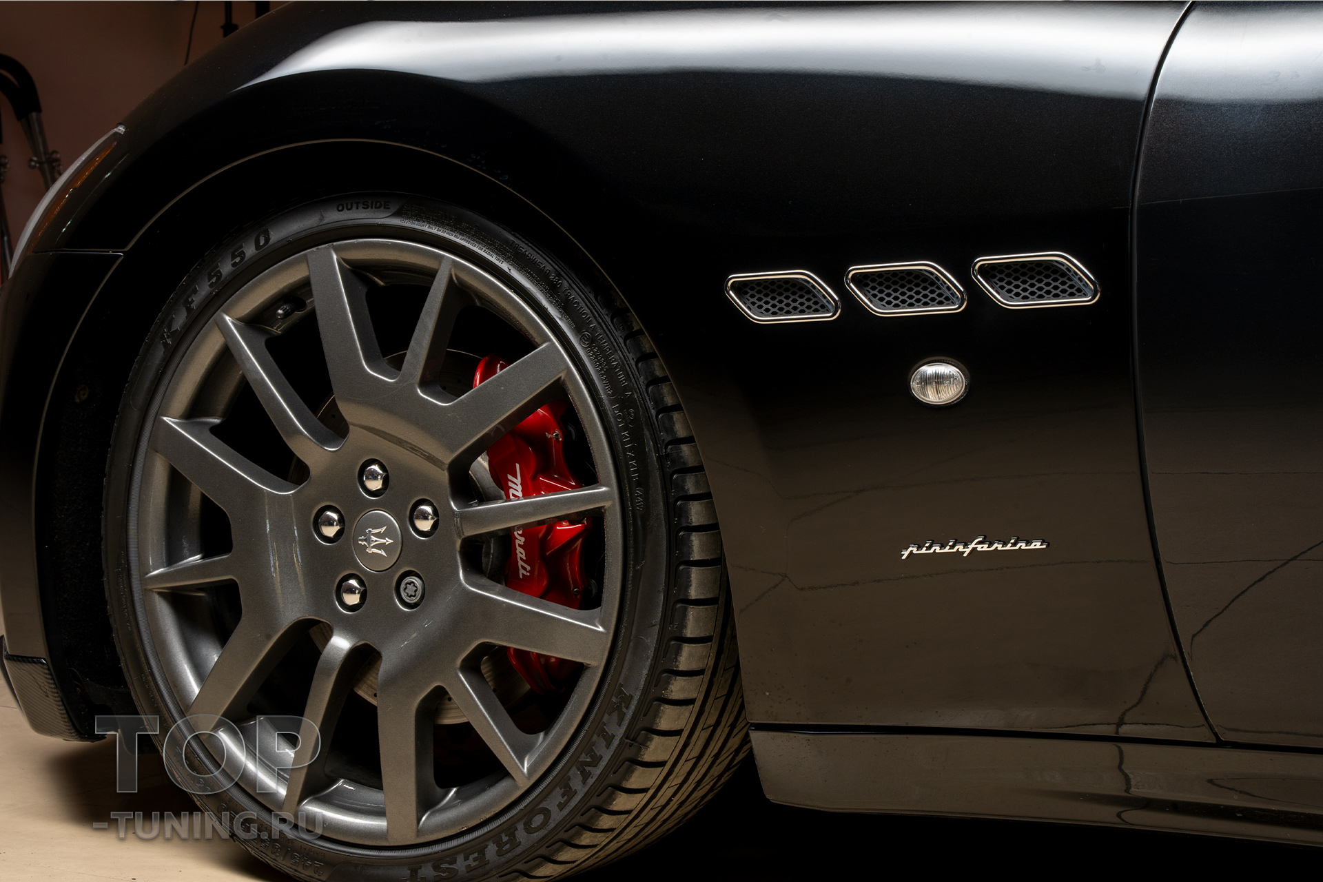 Жабры в крыльях. Эмблема Pininfarina