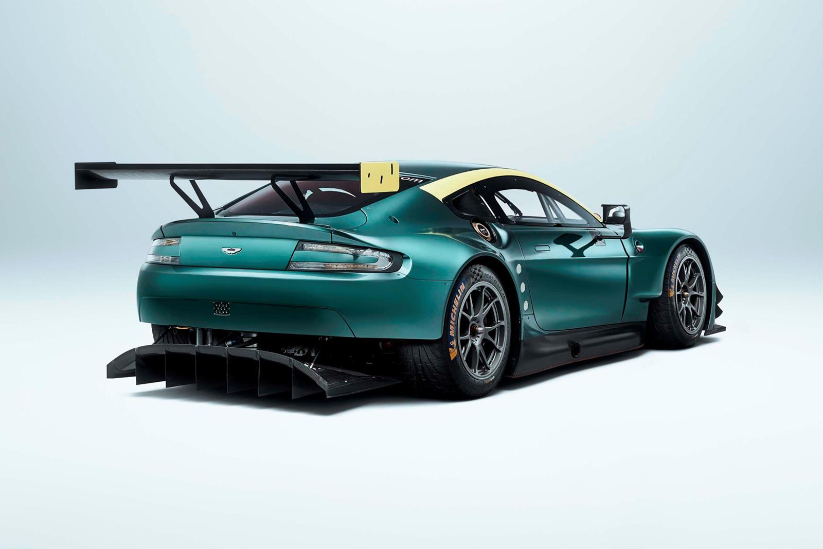 Коллекцию Vantage Legacy составляют победившие в Ле-Мане V8 Vantage GTE, V12 Vantage GT3 и Vantage GT4. Каждый гоночный автомобиль был построен в мастерских Aston Martin Racing и может быть куплен только коллекцией из трех автомобилей.