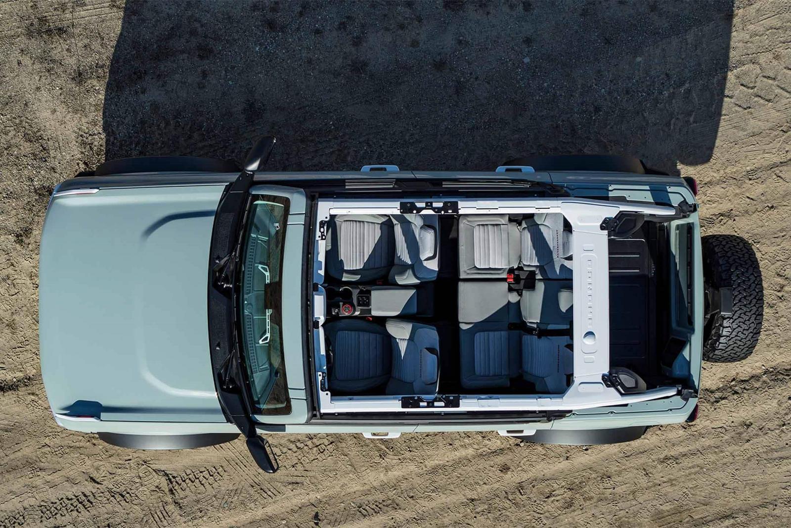Однако то, что вы видите в инструменте Bronco Build&Price, - это не все, что вы получаете, и, по словам менеджера по маркетингу Ford Bronco Эстебана Плаза-Дженнингса, скоро появится крупное обновление конфигуратора.