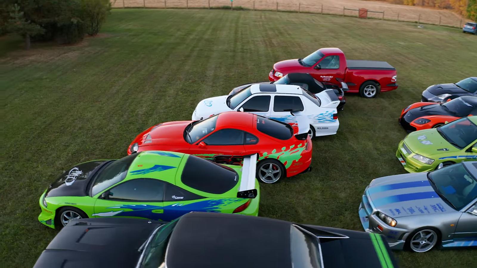 Однако этот парень должен быть самым большим фанатом «Форсаж», которого мы когда-либо видели. Знакомьтесь, Хорхе, владелец крупнейшей в мире коллекции автомобилей франшизы.
