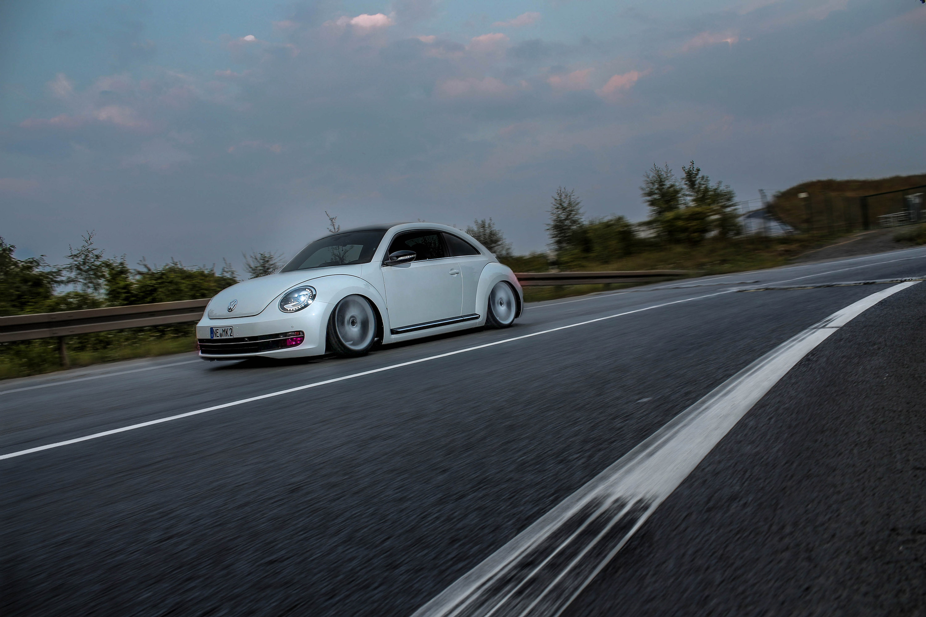 VW Beetle MR Car Design тюнинг