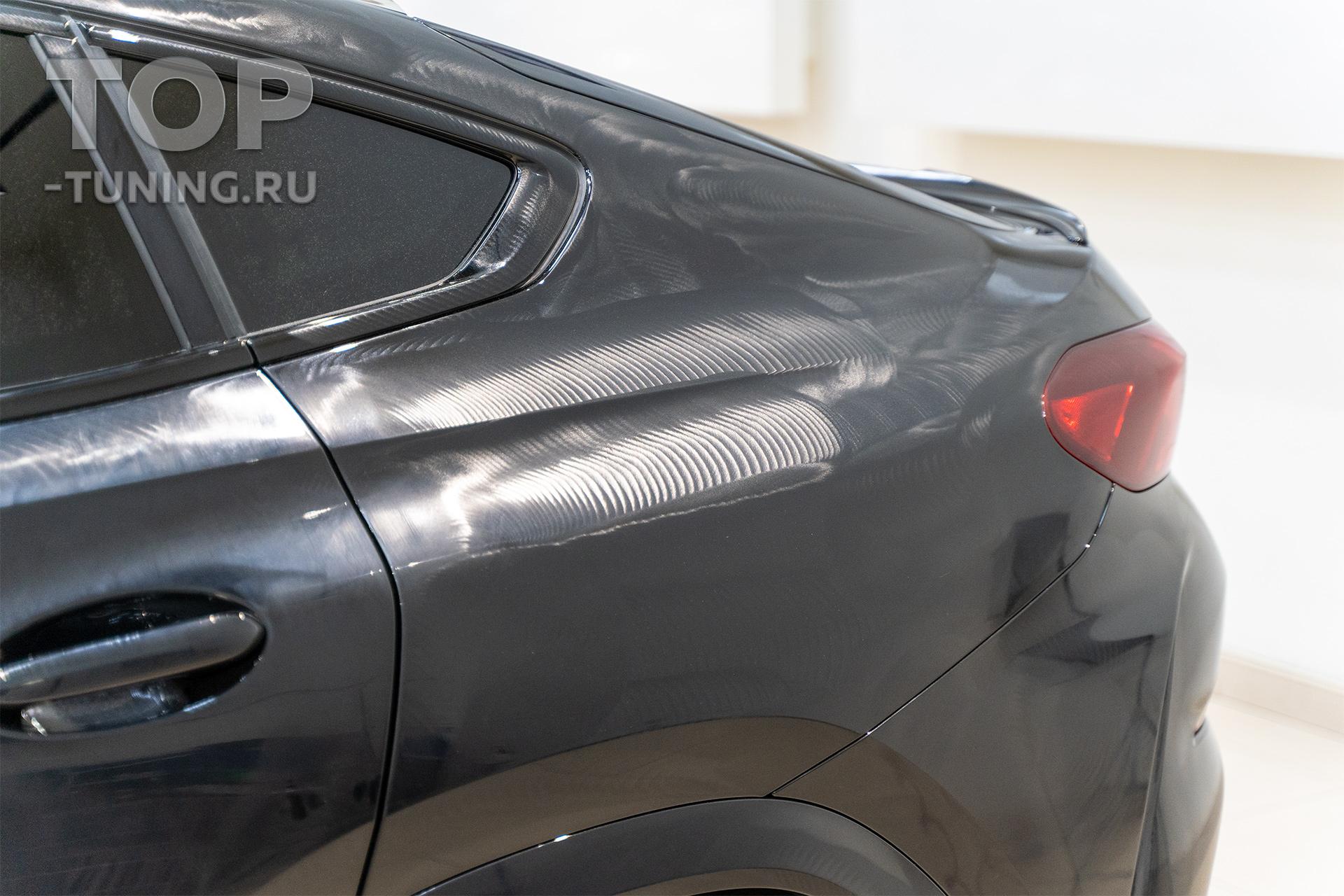 Мягкая полировка кузова БМВ - удаление голограмм на новом автомобиле