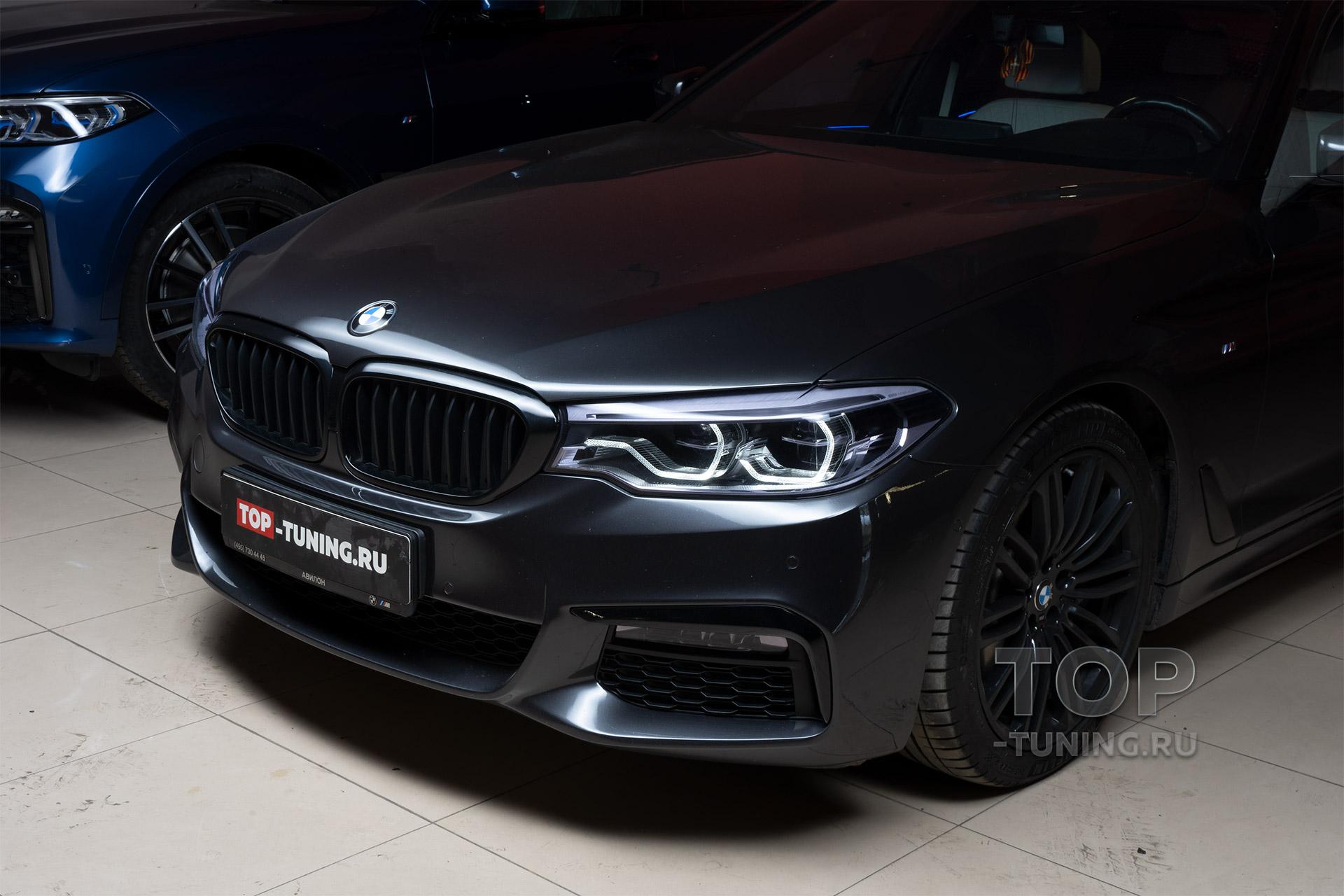 104143 Бронирование фар и фонарей на BMW 5 G30