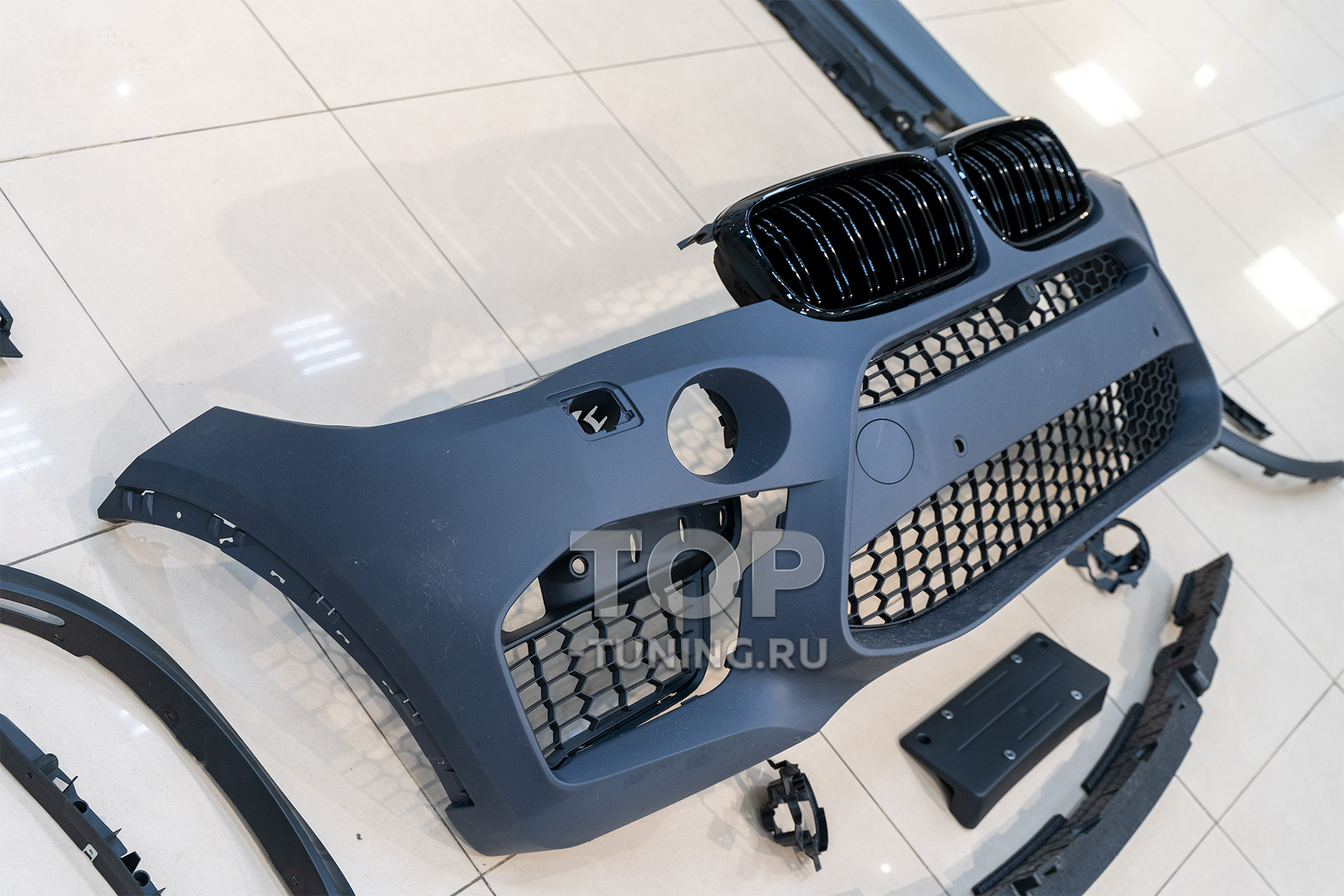 Тюнинг БМВ Х5 - обвес X5M f85