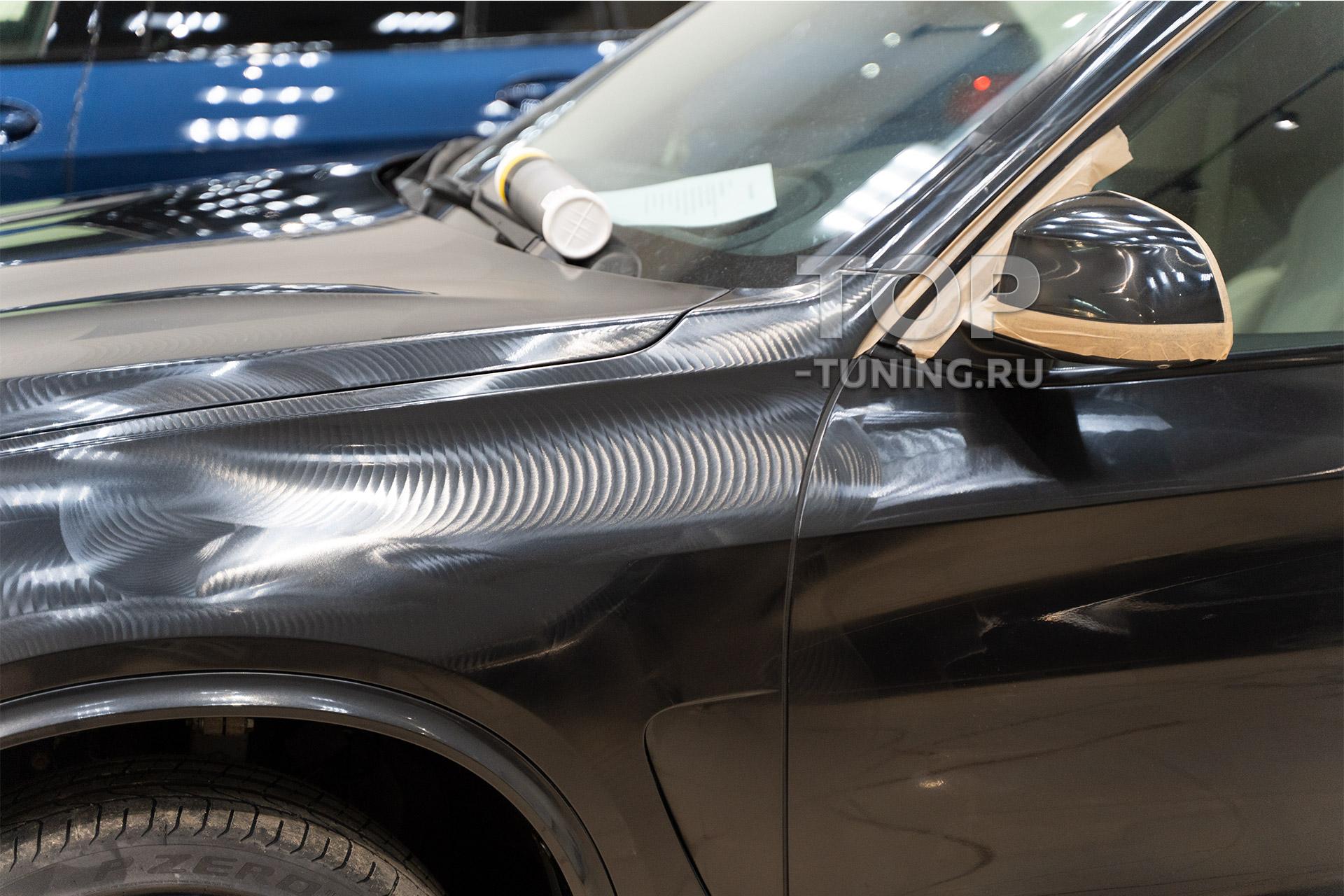 Детейлинг BMW X5 f15. Полировка кузова, удаление царапин, нанесение твердого воска.