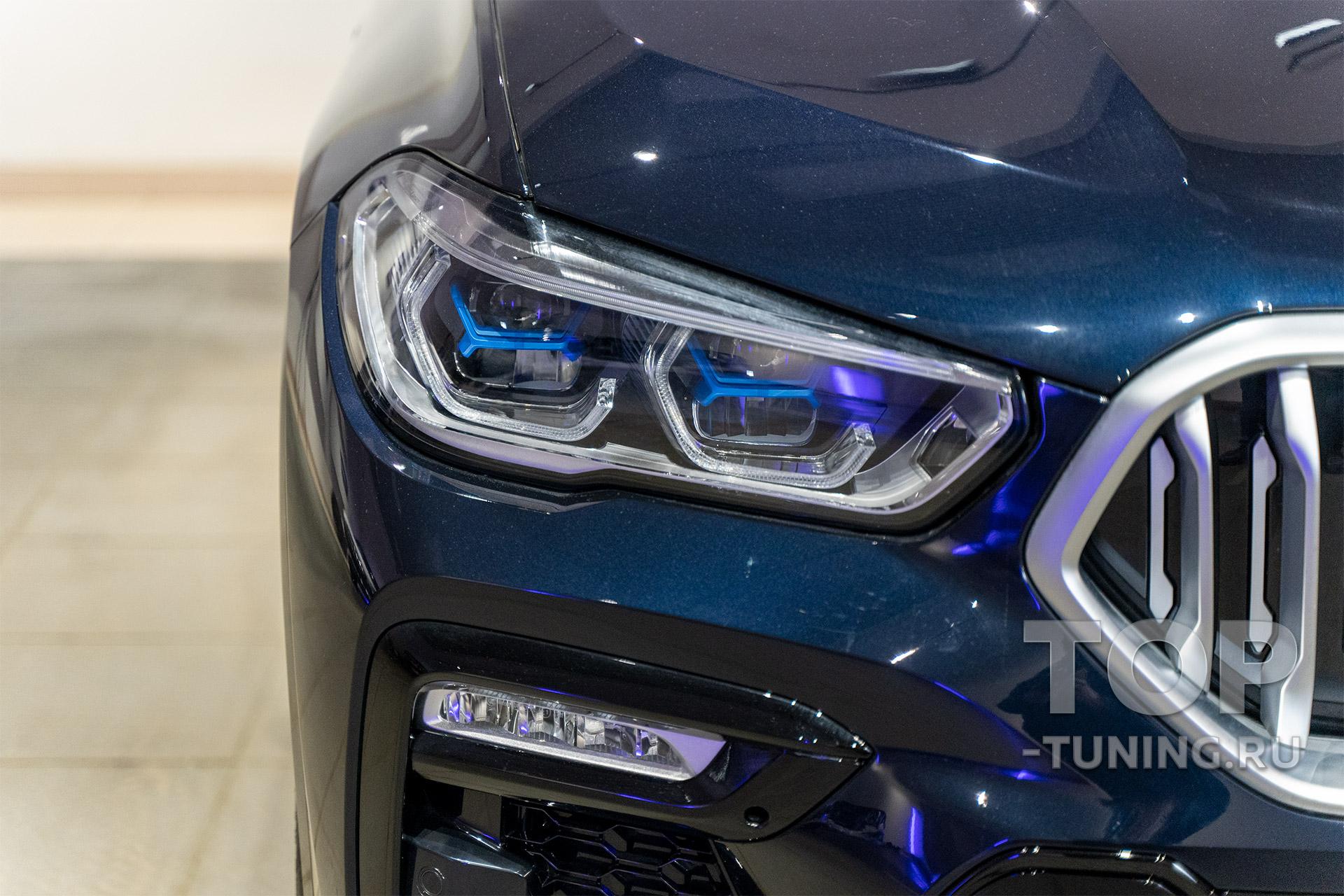 Лазерная оптика в новом БМВ х6 2020