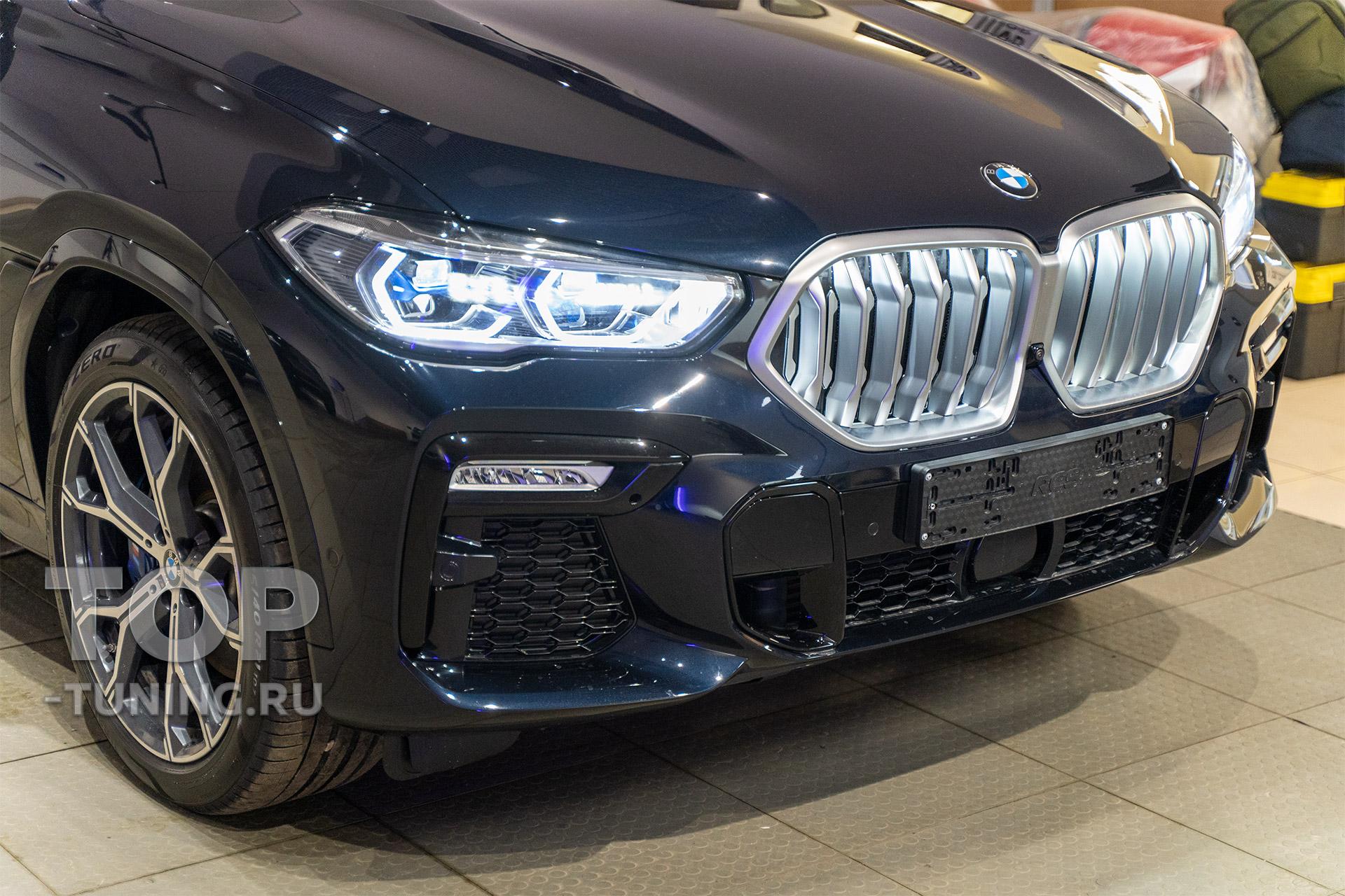 Светодиодные фары Laser LED в BMW X6 G06
