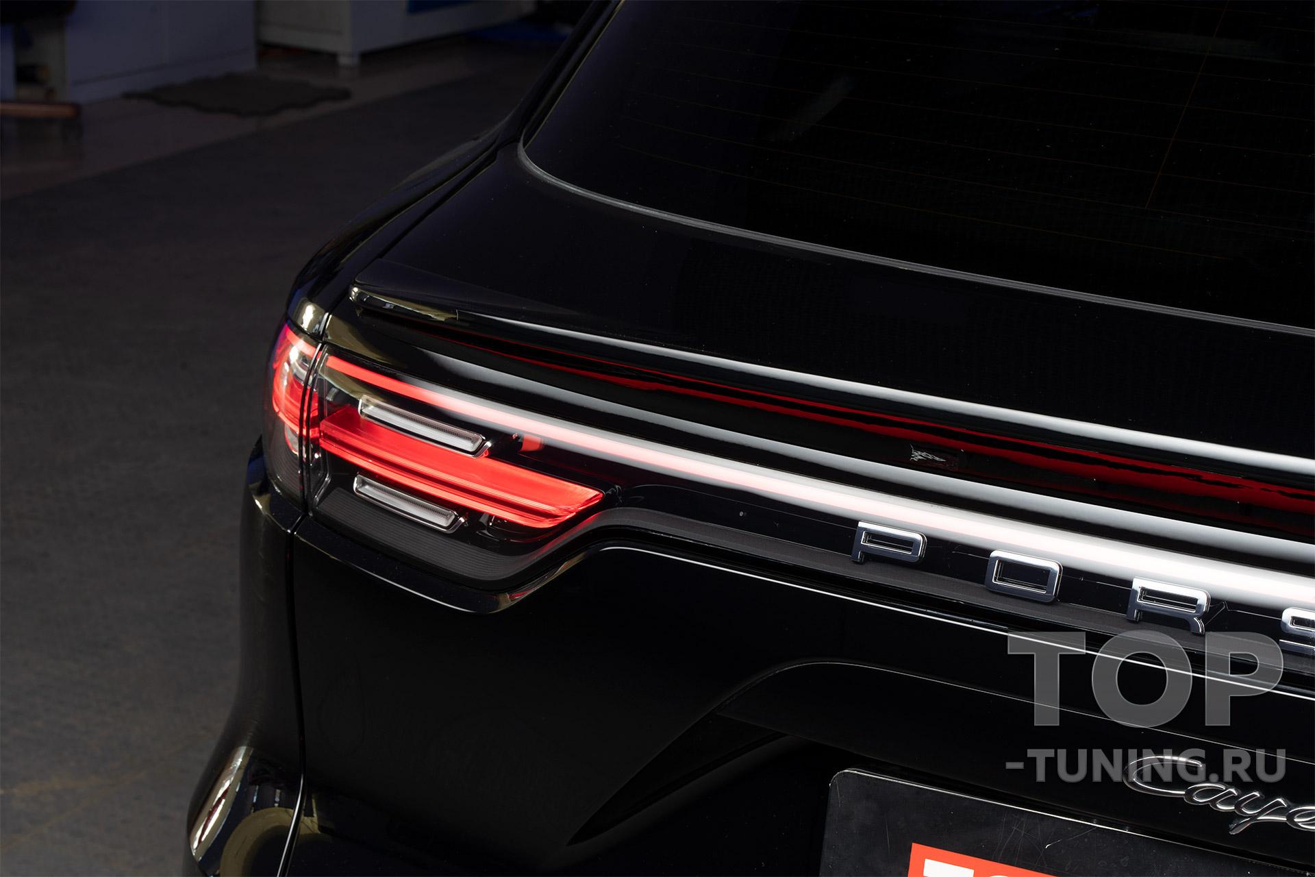 104171 Обвес, красные суппорта и детейлинг для Porsche Cayenne E3