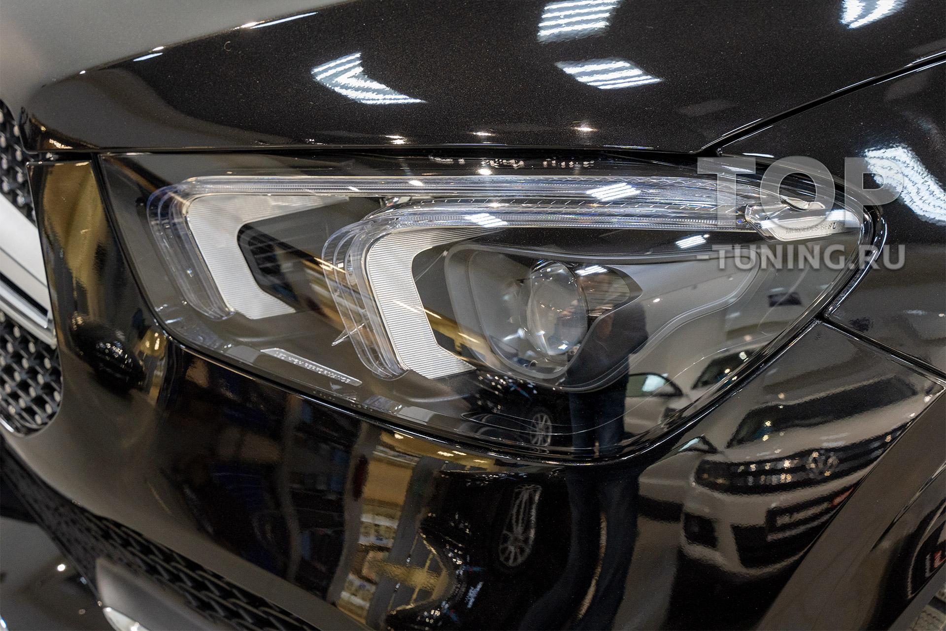 104204 Защита зоны риска Mercedes GLE V167 + установка Android 9.0 в штатную мультимедиа
