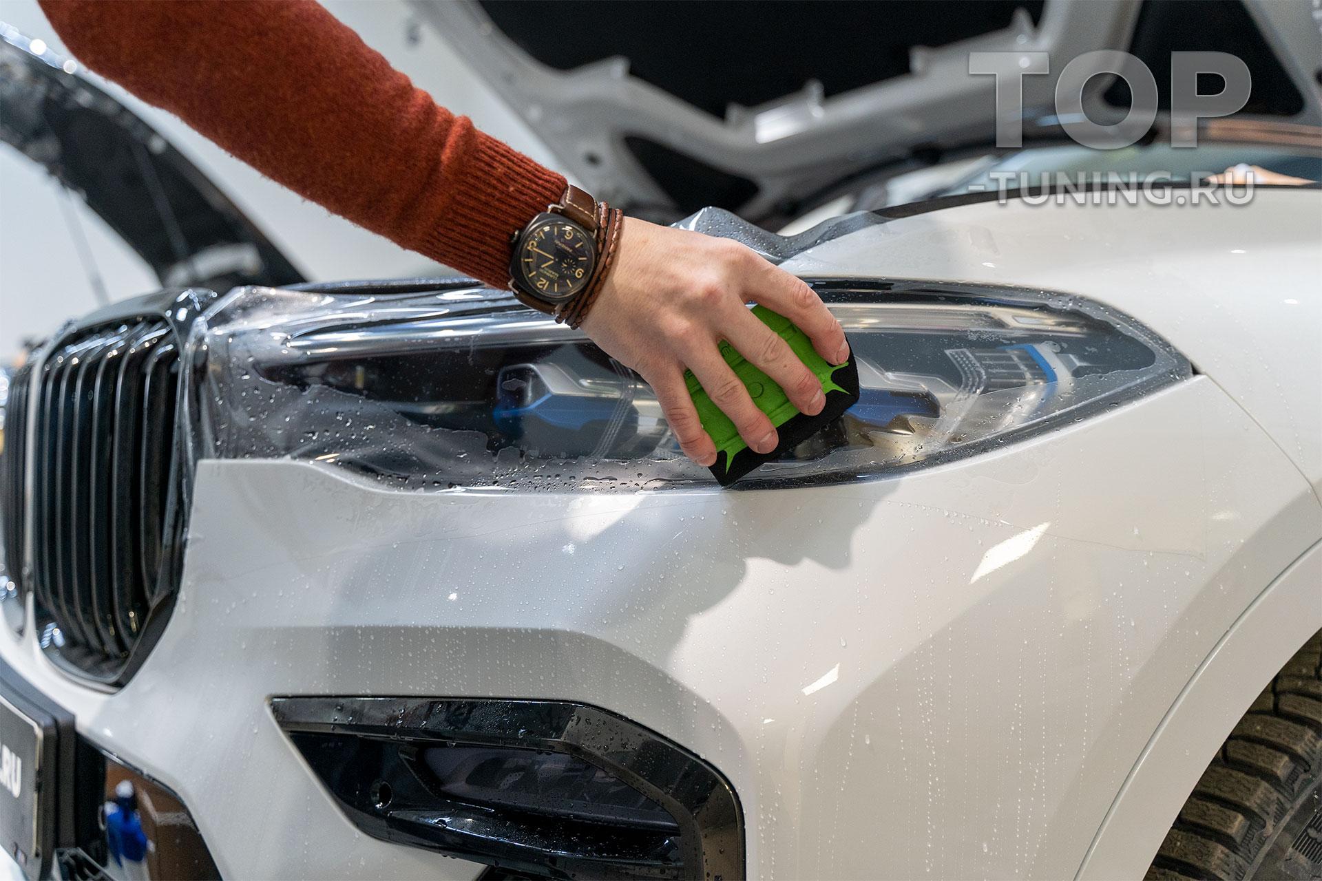 Оклейка пленкой. Бронирование BMW X7. STEK Dyno Shield. Москва