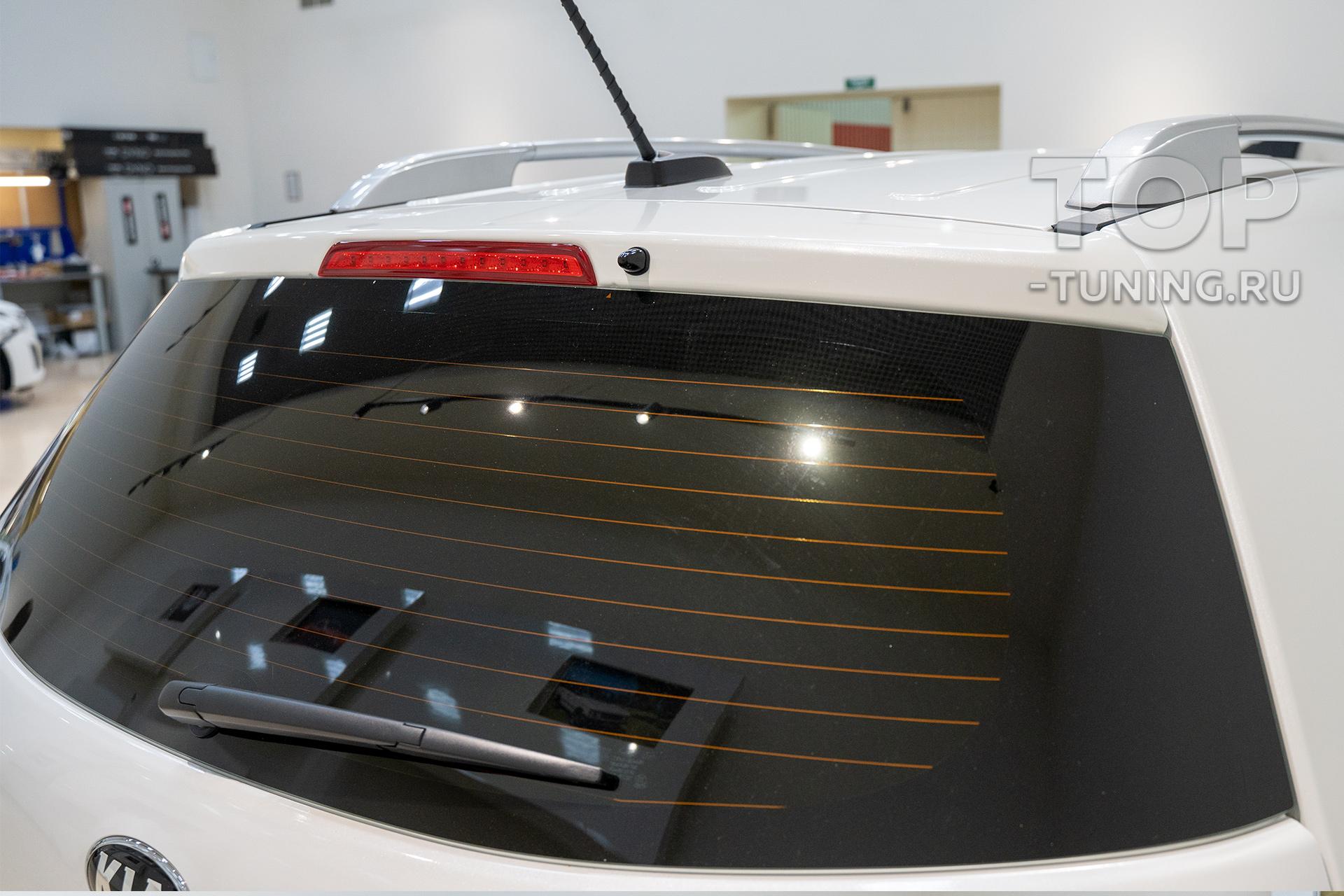 Автомобиль перед началом работ. Оригинальное дооснащение Соренто 2 (2021-2020)