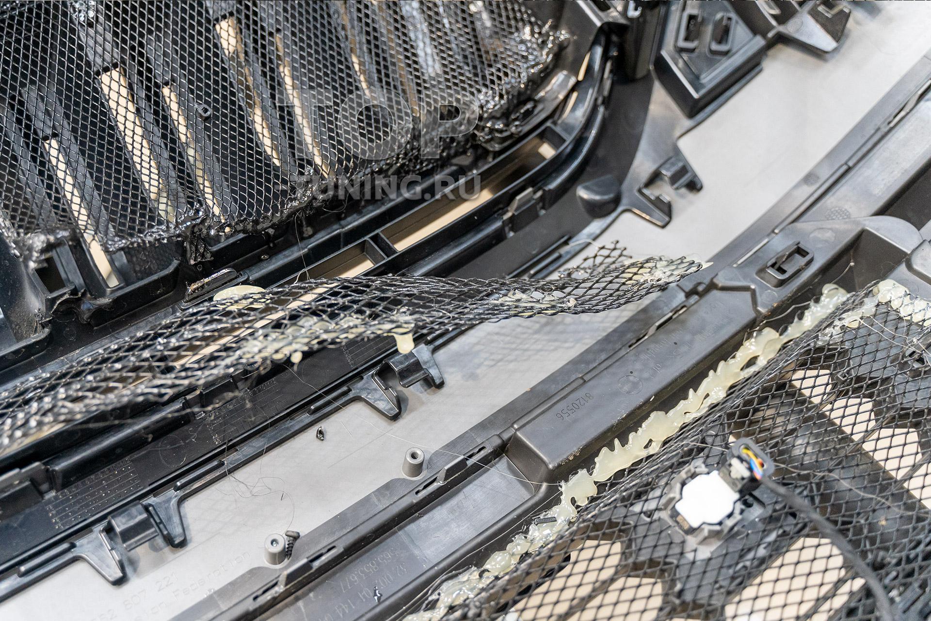 Ошибки при установке сетки фильтра в бампер и решетку радиатора