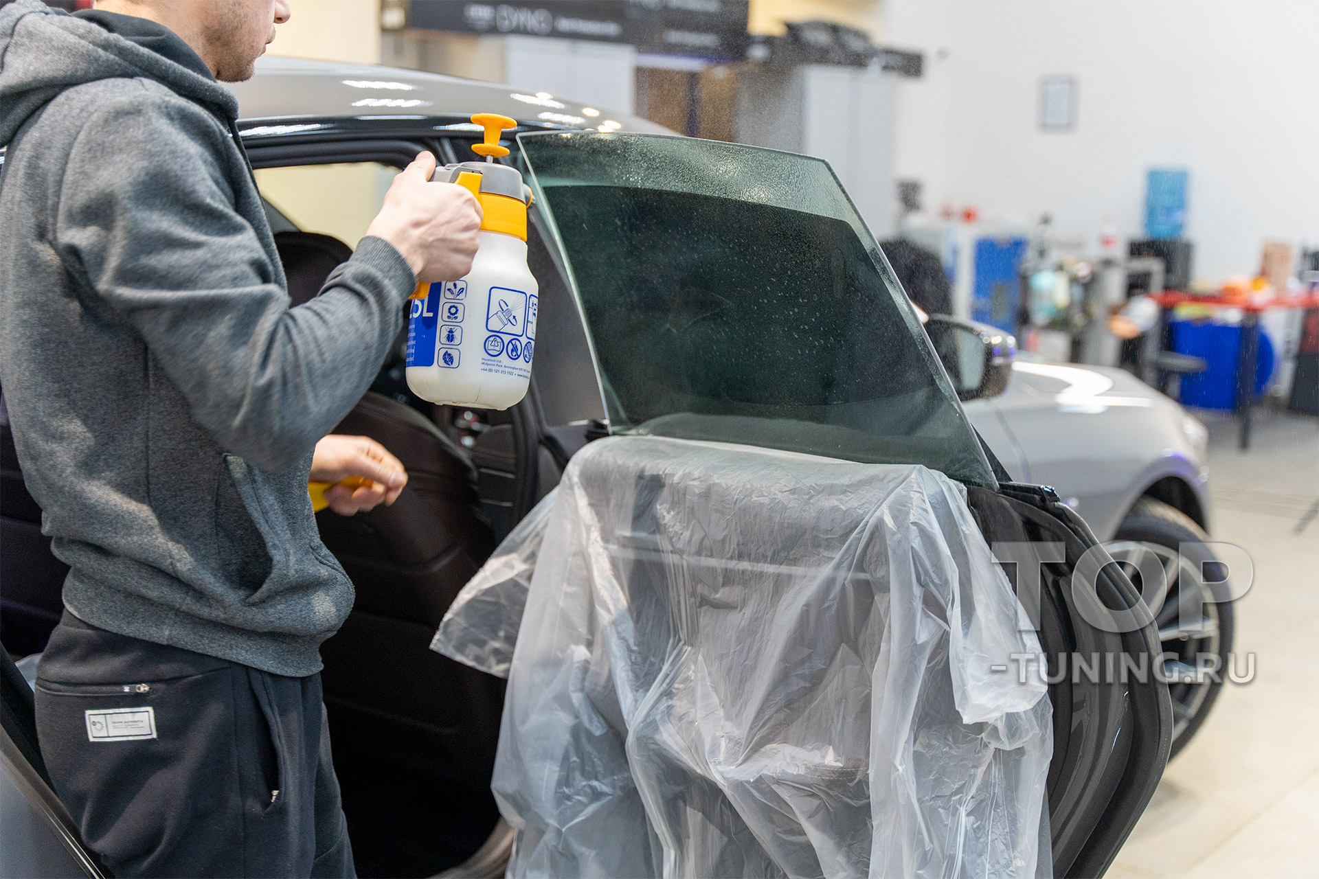 BMW 6 GT LCI G32 - тонирование стекол