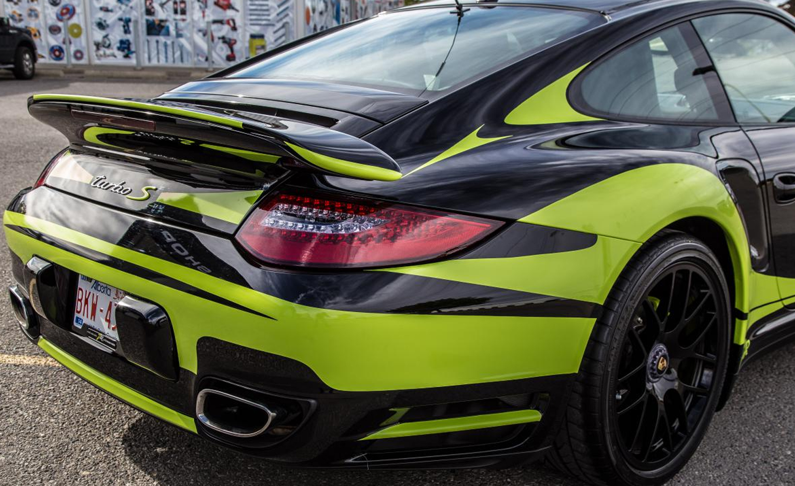 Porsche 911 Turbo S ZR Auto тюнинг